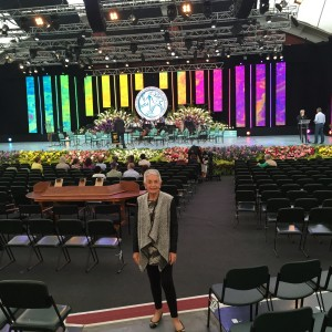 Judith Ferber, General Manager of the Gold Coast Eisteddfod at Llangollen.