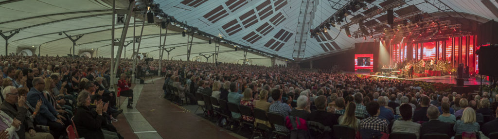 Llangollen International Music Eisteddfod. Jools Holland Big Band concert