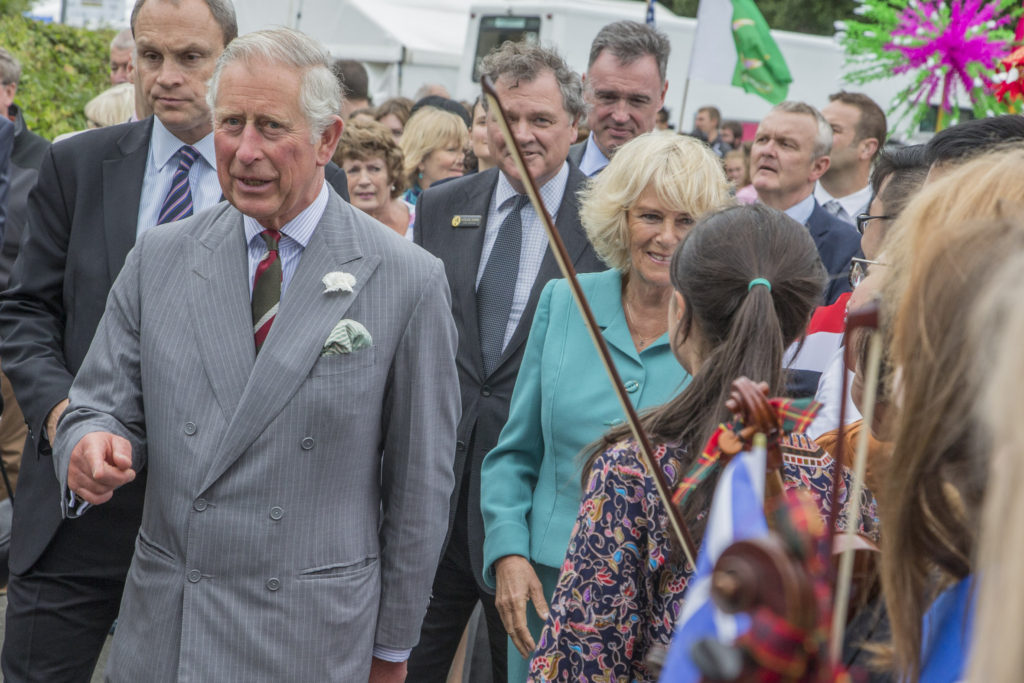 Prince Charles visit to Llangollen International Musical Eisteddfod
